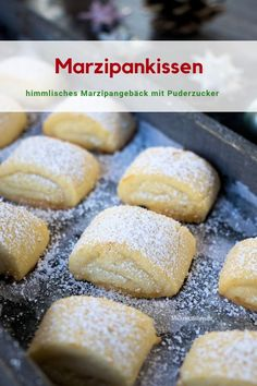 marzipan pillow- for beautiful sprinkled with powdered sugar. I bake this great marzipan pastry every year the perfect for me cookies, for beautiful sprinkled with powdered sugar. I bake this great marzipan pastry every year the perfect for me cookies,