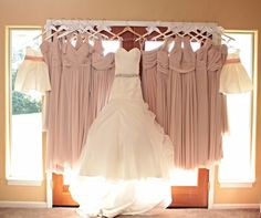 Bride + Bridesmaid + Flower Girl dresses