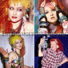 Image detail for -Cyndi Lauper Fashion   The Glamourous Life: Celebrity Fashion ...