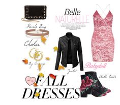 Fall Dresses 👗 🍁 by myllenamorenaguerra on Polyvore featuring polyvore, fashion, style, Boohoo, MANGO, Miss Selfridge, LE3NO, KEEP ME, clothing, Fall and falldresses