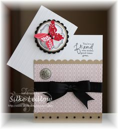 hinged card