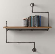 Good for a man cave or basement bathroom.  The pipes can be the towel rack  and make another angel for the tp