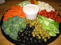 easy+veggie+trays   Vegetable tray recipes