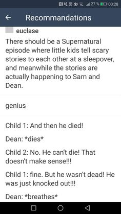 ILL BE LAUGHING BUT THEN BE EMOTIONALLY TERRIFIED AND PROBABLY BE CRYING MY SELF TO SLEEP DURING THE EPISODE