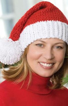 Crocheted Santa Hat. I say it every year, but this year I really mean it. I WILL make one.