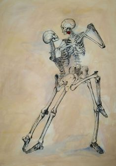 Il Tango by TheOtherShiroki on DeviantArt Skeleton Love, Skeleton Dance, Skeleton Art, Skeleton Makeup, Skull Makeup, Skeleton Drawings, Skeleton Tattoos, Art Drawings, Tango