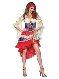 You won't need any powers to see that this is the sexiest gypsy costume out there