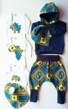 Discover recipes, home ideas, style inspiration and other ideas to try. African Inspired Fashion, African Print Fashion, Africa Fashion, African Attire, African Wear, African Dress, African Babies, African Children, Baby Boy Outfits