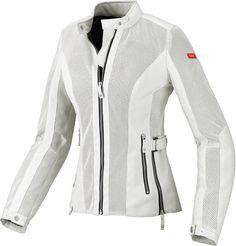 Spidi Sport Womens Summer Net Mesh Armored Textile Jacket White