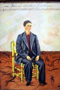 """Frida Kahlo, """"Autoritratto con i capelli tagliati"""", 1940"""