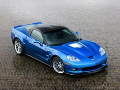 Not a big vette fan but i like this  2010 Chevrolet Corvette ZR1 picture