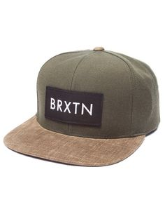 The Rift Snapback Cap by Brixton  ) Alook 23d73229ff70