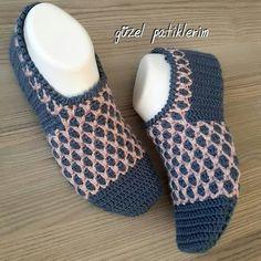 Best 12 my beautiful booties ( Knitted Socks Free Pattern, Crochet Slipper Pattern, Knitting Socks, Crochet Patterns For Beginners, Baby Knitting Patterns, Crochet Ripple, Knitted Baby Clothes, Crochet Boots, Knitted Slippers