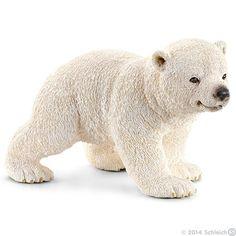 Polar bear cub, walking van Schleich