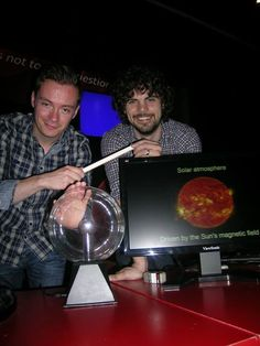 science busking - solar science (Dundee Science Centre)