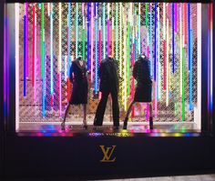 Fluo - Vitrines Louis Vuitton  Soline d'Aboville # fashion, #display