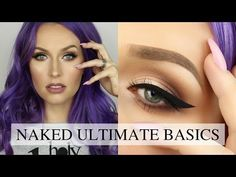 NEW! Urban Decay Naked Ultimate Basics Palette Review and Tutorial - YouTube