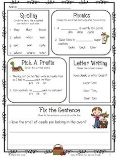 Daily Practice for Second Grade