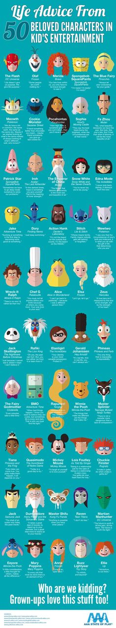 50 Inspiring Life Quotes From Beloved Cartoon Characters - distractify