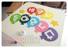 어린이집게시판꾸미기,가렌드, 생일축하합니다 가렌드, 펠트 가렌드, 펠트 환경구성폼 (출처: www.kformart... Crafts For Kids, Blog, Korean Language, Crafts For Children, Kids Arts And Crafts, Blogging, Kid Crafts, Craft Kids