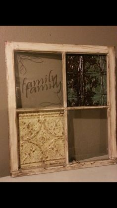 one more repurposed window for my living room<3 piece by piece my house is coming together