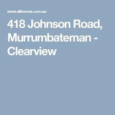 418 Johnson Road, Murrumbateman - Clearview