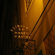 One of my favorite restaurants in Coimbra, Portugal.