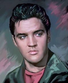 Beautiful one of a kind oil painting on canvas by professional American portrait artist, author and illustrator Sara Lynn Sanders. Take a look at her gallery to see more of her Elvis art and also her price list: http://www.elvis100percent.com/saralynnsandersartgallery.htm Also visit her facebook page: https://www.facebook.com/saralynnsanders