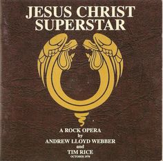 """Jesus Christ Superstar is a rock opera by Andrew Lloyd Webber with libretto by Tim Rice. The musical started as a rock opera concept recording before its first staging on Broadway in 1971. The musical was first produced as an original album where  the part of Jesus was sung by Ian Gillan, the lead singer of Deep Purple. The title song, """"Superstar"""", sung by Murray Head, and """"I Don't Know How to Love Him"""", sung by Yvonne Elliman, were both big hits."""