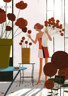 Matthieu Forichon - Le bouquet de roses