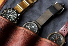 Worn & Wound - Watch Roll — ANCHOR DIVISION