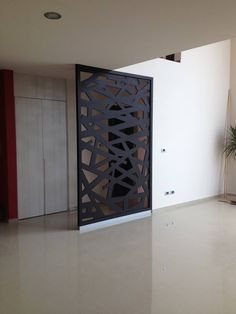 8 Astounding Useful Tips: Room Divider Wall Fireplaces living room divider awesome.Room Divider Panels Home small room divider diy projects. Steel Lighting, House Design, Glass Room, Glass Room Divider, House Interior, Home Interior Design, Therapy Room, Room Divider Walls, Bamboo Room Divider