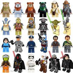 alte Version Lego Star Wars Qui-Gon Jinn mit Zubehör Baukästen & Konstruktion