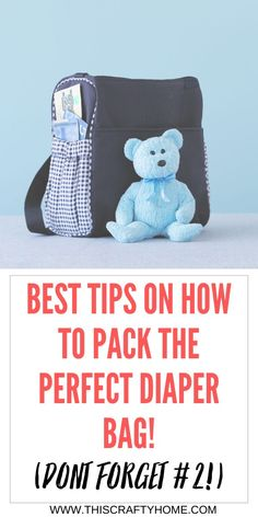 Are you a new mom and struggling to pack all the essentials when leaving the house? Check out these great tips for packing the perfect diaper bag! All the things you need for your newborn and even for you! Click here for a list of must haves in your diaper bag. Good Parenting, Parenting Hacks, Toddler Crafts, Toddler Activities, Diaper Bag Essentials, Quotes About Motherhood, Baby Must Haves, Diaper Bag Backpack, Second Baby