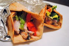 Grilled Chicken Shawarma - Foxes Loves Lemons