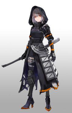 状 on - Character Design Club 2019 Cool Anime Girl, Anime Art Girl, Manga Girl, Anime Girl Neko, Otaku Anime, Chica Anime Manga, Fantasy Character Design, Character Design Inspiration, Character Art