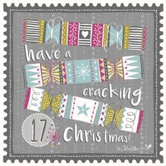 day 17 of the #adventcalendarart #2015 #clairewilsondesigns