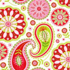 "Michael Miller ""Gypsy Paisley"" fabric"