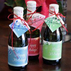 Sparkling Cider Mini Bottles Over 250 Label Designs