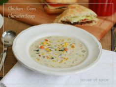Creamy Chicken and Corn Chowder Soup @ HOSpice !!!
