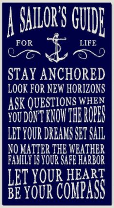 Decorate your home with beach and coastal home décor from Country Marketplace including a large range of wooden signs and sayings Navy Life, Navy Mom, Navy Sister, The Words, Sailor Quotes, Nautical Quotes, Beach Quotes, Ocean Quotes, Golf Quotes