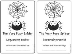 Sequencing the Very Busy Spider by Eric Carle