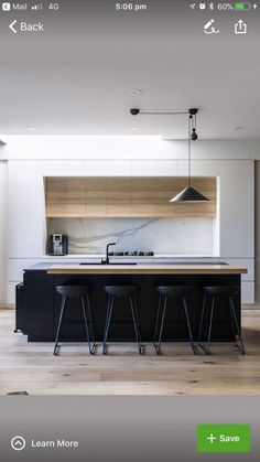 Exceptional kitchen ideas are available on our site. look at this and you wont b Contemporary Kitchen Exceptional Ideas Kitchen site wont Kitchen Room Design, Best Kitchen Designs, Modern Kitchen Design, Kitchen Layout, Home Decor Kitchen, Interior Design Kitchen, Home Kitchens, Kitchen Ideas, Contemporary Kitchen Island