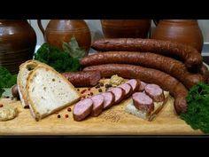 How to make homemade polish sausage - a recipe for homemade smoked sausage Smoking Meat, How To Make Homemade, Grilling, Youtube, Sausages, Recipes, Food, Crickets, Sausage