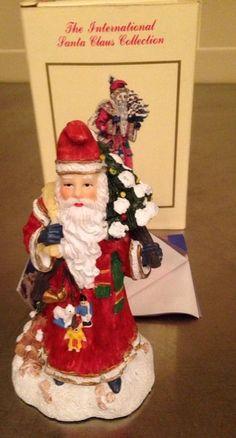 Germany Weihnachtsmann International Santa Claus Collection Figurine 1994 In Box #nternationalResourcesLLC