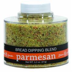This is sooo good!  Dean Jacob`s Parmesan Bread Dipping Blend, 2.5 Oz Stacking Jar