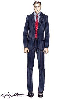 Armani signe les costumes du film «Le loup de Wall Street »