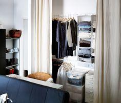 Ιδέες για Βοηθητικούς Χώρους | IKEA Ελλάδα Make A Closet, Home Look, Ikea, Closet Ideas, Living Room, Bedroom, Interior, House, Design