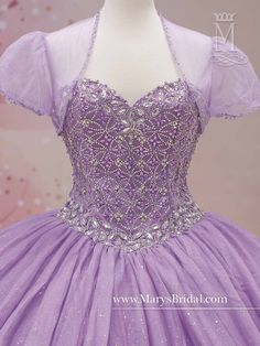Mary's Bridal Princess Collection Quinceanera Dress Style 4Q375