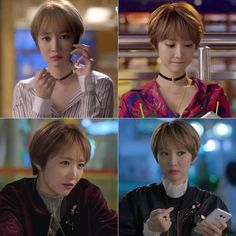 Asia short hair- Go Jun Hee                                                                                                                                                                                 More